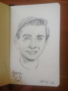 Carl-Sagan-Highschool-sketch